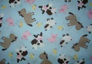 FARM ANIMALS pigs, cows, horses 2 NURSE & VET SCRUB TOP