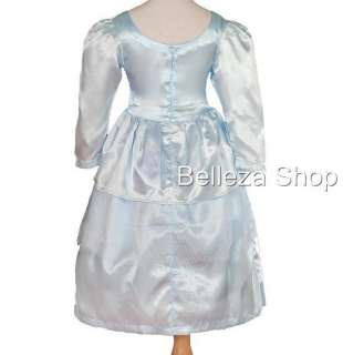 Girl Cinderella Princess Party Costume Fancy Dress 2 3T