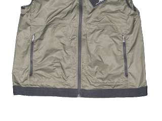 NWT POLO RALPH LAUREN RLX MENS GREEN WINDBREAKER HOODED SWEATER VEST