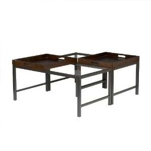 Southern Enterprises Tray Top Bunching Table Set