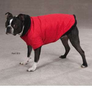Zack & Zoey Quilted Thermal Sherpa Dog Coat Jacket XL
