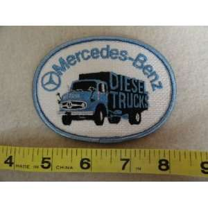 Mercedes Benz Diesel Trucks Patch