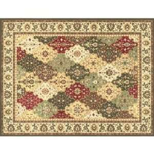 by 10 Feet 5 Inch Area Rug, Multi/Beige