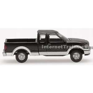Atlas N Scale Ford F 150 Pickup Truck   Black/Silver (2) Toys & Games