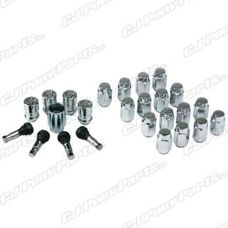Ford Racing Mcgard Locking Chrome Lug Nut Kit