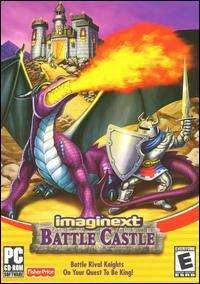 Imaginext Battle Castle PC CD kid dragon adventure game