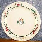Pfaltzgraff Snow Village Holiday Snowman Christmas Dinner Plate