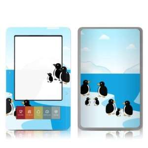 Penguins Design Protective Decal Skin Sticker for Barnes