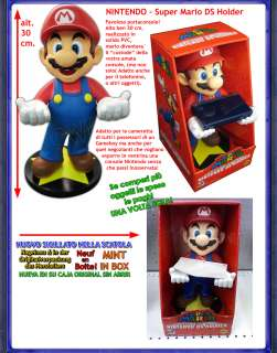 SUPER MARIO BROS Galaxy Porta Console Gameboy DS Figure