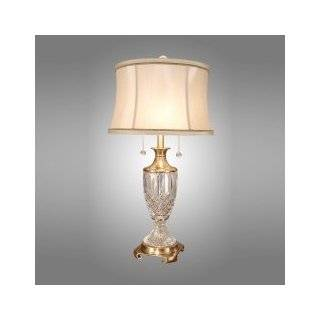Dale Tiffany PG10178 Art Glass Table Lamp, Antique Brass