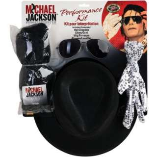 Halloween Costumes Michael Jackson Performance Accessory Kit (Adult)