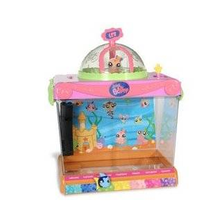 Littlest Pet Shop Figures Exclusive Playset Light Up Dome Aquarium