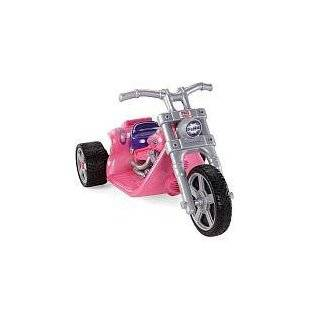 GIRLS PINK ELECTRIC RIDE ON HARLEY Motorcycle Power Wheels