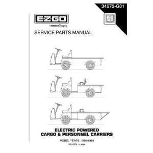 Parts Manual for Electric Cargo and Personnel Carrier Utility Vehicles