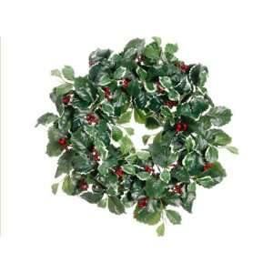 Holly Berry Artificial Christmas Wreath   Unlit