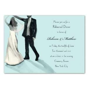 Sparkled Dancing Couple Invitation Toys & Games