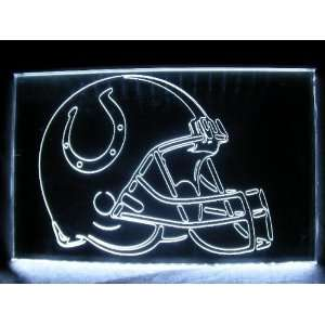 NFL  Indianapolis Colts Helmet Neon Light Sign
