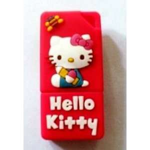 8GB Hello Kitty style USB flash drive(Red)