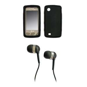 LG Chocolate Touch VX8575 Premium Black Silicone Skin Case