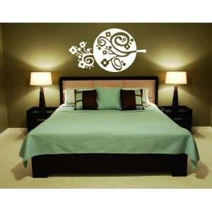 Circle Flower  Vinyl Wall Decal