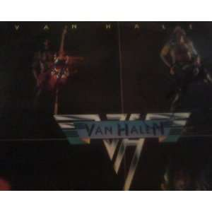 Van Halen Van Halen Autographed Record Album Cover Sleeve And Vinyl