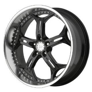 Konig Lightning Gloss Black Wheel with Machined Lip (18x8