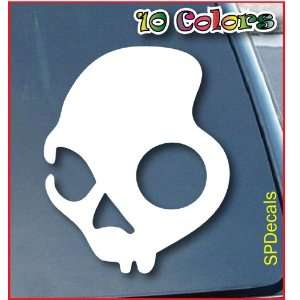Skullcandy Headphones Car Window Vinyl Decal Sticker 9 Tall (Color