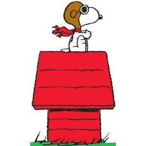 Snoopy Flying Ace Stand Up Poster