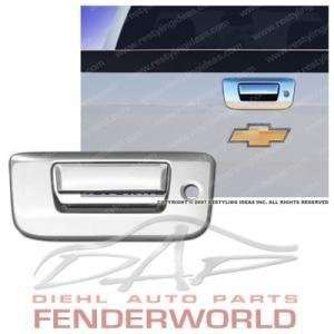 CHEVY SILVERADO 07 08 CHROME REAR TAILGATE HANDLE COVER Automotive