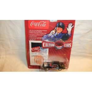 JOHNNY LIGHTNING COCA COLA CALENDAR CARS 2005 COLLECTION