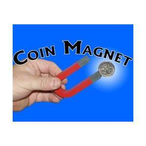 Coin Magnet  Europe  Street Close Up Money Magic T Toys & Games