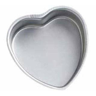 Wilton Decorator Preferred Aluminum Heart Shaped Cake Pan
