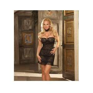 Jazz Me Up Chemise Stretch lace strapless sleepwear chemise with