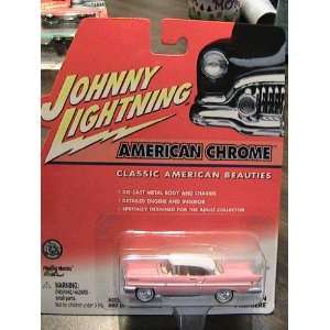 Johnny Lightning American Chrome Classic American Beauties series 1957