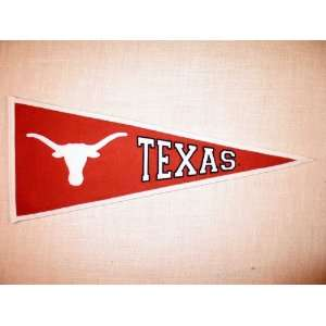 Texas Longhorns (University of)   NCAA Traditions Pennant