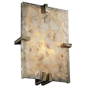 Rocks Clips Rectangle Wall Sconce by Justice