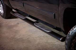Side Step Nerf Bars Black 1999 2011 CHEVY GMC SILVERADO SIERRA Ext Cab