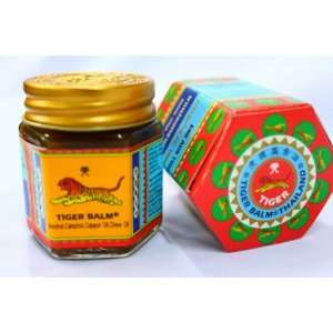 Thai Original Tiger Balm Red Warm Massage 1.06 Oz