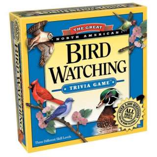 Outset Media Bird Watching Trivia Game Games & Puzzles