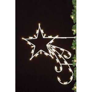 Small Shooting Star   Christmas Light Display  Kitchen