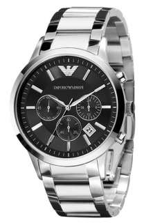 Emporio Armani Mens Stainless Steel Bracelet Watch