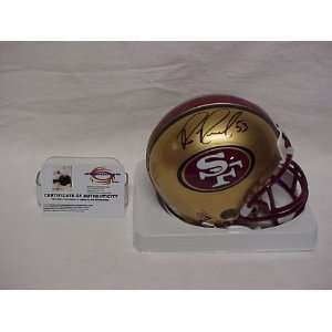 Bill Romanowski Autographed San Francisco 49ers Mini Football Helmet w