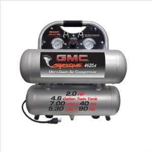 GMC SYCLONE 4620A Ultra Quiet & Oil Free Air Compressor